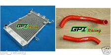 Aluminum radiator + hose SUZUKI LT-Z400 LTZ400 KFX400 DVX400 2003-2008 04 05 06