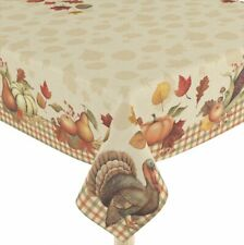Laural Home Bountiful Harvest Tablecloth