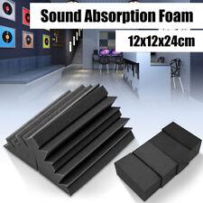 1pc 12 *12 *24 cm Acoustic Foam Panel Bass Traps Absorption Sound Treatment YH