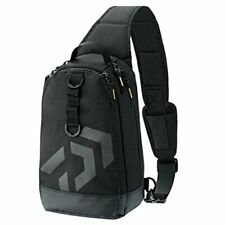Daiwa One-Shoulder Lt Fishing Bag Black  NEW from Japan