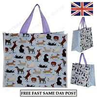 Catch Patch Dog Design Reusable Shopping Tote Bag Neat Bag Beach Shop Trips