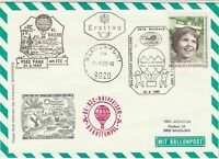 Austria 1969 Dessert Scene Slogan Cancel Balloon Post Stamps FDC Cover Ref28086