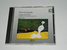 CD paul Hindemith MORGENSTERN Lustige Sinfonietta RAG TIME Gerd Albrecht BERLIN