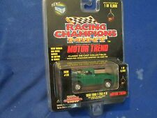 1959 ford f250 pickup truck green 4x4  Racing champions 1:64 limited mint ed