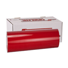 """orafol Transparent Red Overlay Vinyl 12"""" X 60"""" oracal Outdoors Rated! USA"""