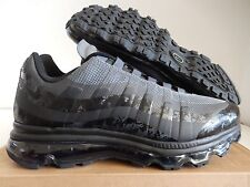 NIKE AIR MAX 95 + BB BLACK-ANTHRACITE-DARK GREY SZ 10 [511307-009]