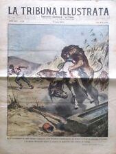 La Tribuna Illustrata 14 Agosto 1927 Coppa Acerbo Lava Vesuvio Fuad Egitto Roma