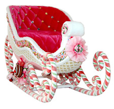 Katherine's Collection Sweet Sleigh Tabletop Christmas Decor 28-828360 New Mint!