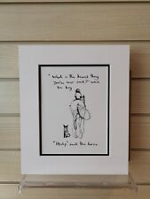 Charlie Mackesy book extract mounted. The boy, the mole,the fox and the horse Q