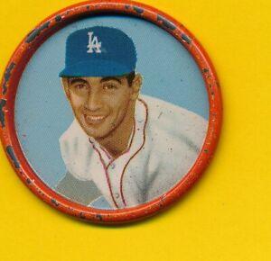Sandy Koufax (HOF) - 1963 Salada Coin - Dodgers