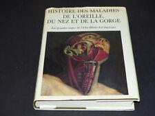 HISTOIRE DES MALADIES DE L'OREILLE, DU NEZ ET DE LA GORGE - Tirage limité