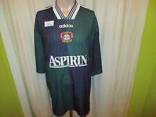 "Bayer 04 Leverkusen originale Adidas Trasferta Maglia 1997/98 ""aspirina"" TG. XXL Top"