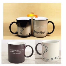 Harry Potter Mug Heat Sensitive Color Changing Cup I Solemnly Swear Mischief Ma%