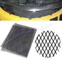 "100×33cm 40""x13""Aluminium Racing Grille Mesh Vent Car Tuning Grill Section Black"