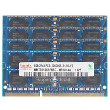 For hynix 16GB 4X4GB 2RX8 PC3-10600S DDR3-1333Mhz 1.5V SODIMM Laptop Memory RAM