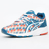 Asics Men's Gel Kayano Evo Trainers Red Blue H6C3N