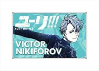 Yuri !!! on ICE Victor Nikiforofu plate badge F/S