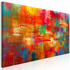 ABSTRAKT BUNT Wandbilder xxl Bilder Vlies Leinwand a-A-0538-b-a