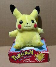 Pokemon Hasbro 1998 Pikachu Plush