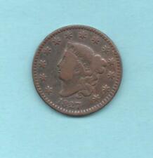 USA / ONE CENT 1827 / coronet head / KM 45