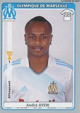 N°271 ANDRE AYEW GHANA OLYMPIQUE MARSEILLE OM STICKER  PANINI FOOT 2011-2012
