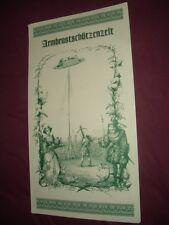 Oktoberfest - Wiesn - Speisekarte  2014 - Armbrustschützenzelt -  Anschauen