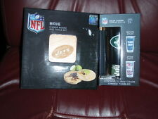 NFL NY JETS Brie Cheese Board/Tool Set, 7-1/2 Inch  & Color Change Tumbler w/lid