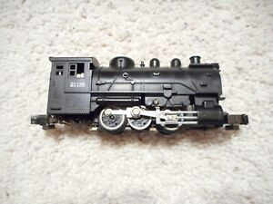 S SCALE AMERICAN FLYER #21155 0-6-0 DOCKSIDER STEAMER