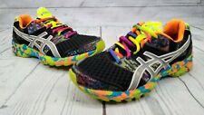 Asics Gel Noosa Tri 8 Running Shoe Sz 8.5 Medium Rainbow Lace Multi Color Pride