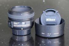 Nikon Nikkor AF-S 50mm F/1.8 G Lens. Perfect Condition.