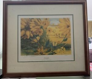 John A Ruthven Butterfiles Rare Limited Edition, Signed, 934/1000