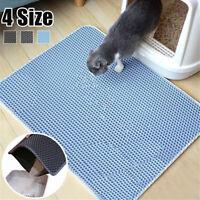 Foldable Double-Layer Cat Litter Mat EVA Foam Trapper Waterproof Cat Pad Pet Rug
