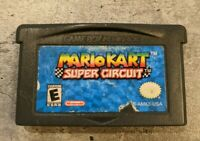 Mario Kart: Super Circuit (Game Boy Advance, 2001) AUTHENTIC Tested & Working