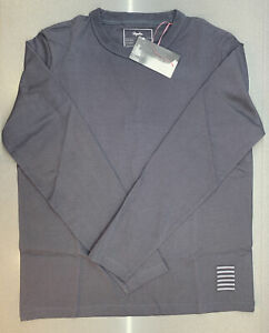 Rapha Mechanics Long Sleeve T-Shirt Carbon Grey Size Medium Brand New With Tag