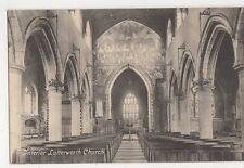 Interior, Lutterworth Church Postcard, B092