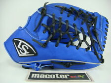 "Louisville Slugger 13"" Outfield Baseball / Softball Glove Blue Black RHT SALE"