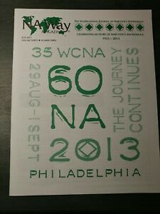 Narcotics anonymous NA WAY.  Philly 60 yr anniversary special.
