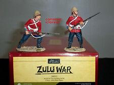 Britains 20013 Zulu war British 24TH piede SOLDATINO Figura difendendo Set 2