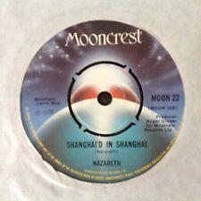 "NAZARETH - SHANGHAI'D IN SHANGHAI. Original 7"" vinyl single."