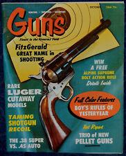 Magazine GUNS Oct 1968 BSA Meteor Super, CROSMAN Model 700, DAISY CO2300 Air GUN