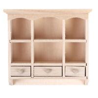 1/12 Miniature Closet Hanging Cabinet Shelf Model Dollhouse Furniture DecorJCSE