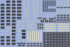 More details for modelmaster br301 br 16t mineral 3 5 7 plank wagon numbers 1948 1965 oo gauge