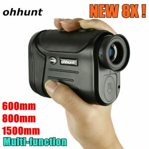 ohhunt 8X 600 800 1500m Golf Hunting Laser Rangefinder All-purpose Speed Angle