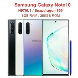 "Original Samsung Galaxy Note10 N970U1 256GB ROM 8GB RAM OctaCore 6.3"" SmartPhone"