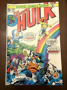 INCREDIBLE HULK #190 Marvel Comics (1975) BRONZE AGE CLASSIC!!