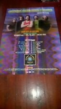 Creedence Clearwater Revisited.  1998 German Tour Poster. EX.  CCR. Fogerty