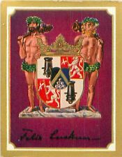 Felix Graf von Luckner Germany Armoiries Coat of Arms IMAGE CHROMO 30s