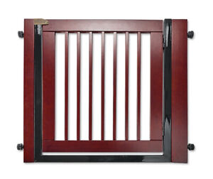 ORVIS Pressure Mounted Doorway Large Wooden Dog Gate