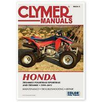 99-14 Honda Trx400ex 400ex 400x Clymer Repair Service Shop Manual M454 Free Ship