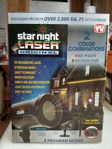 Star Night Holographic Laser Projector
